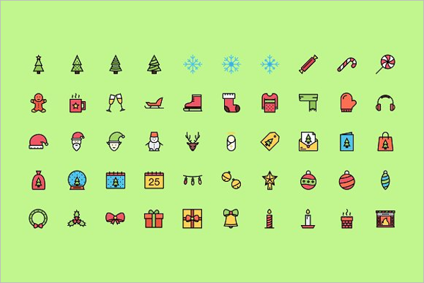 Awesome Christmas Pack Icons
