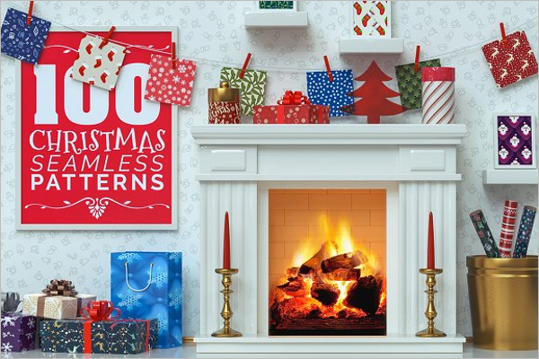 Awesome Christmas Photoshop Pattern