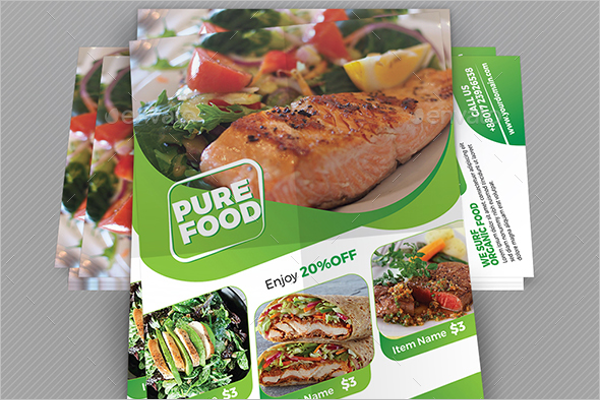 Awesome Restaurant Flyer Template