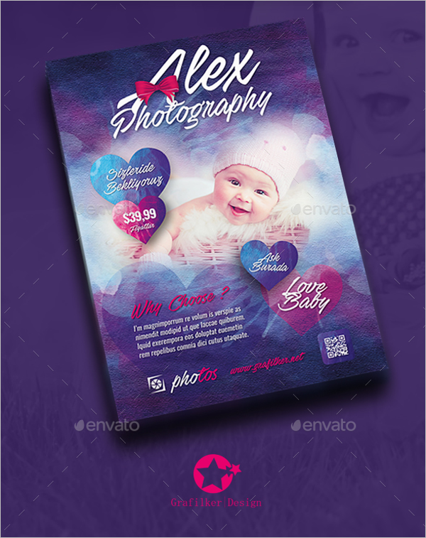 Baby Event Flyer Template