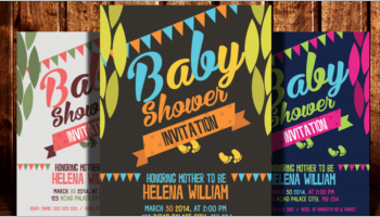 Baby Shower Flyer Templates