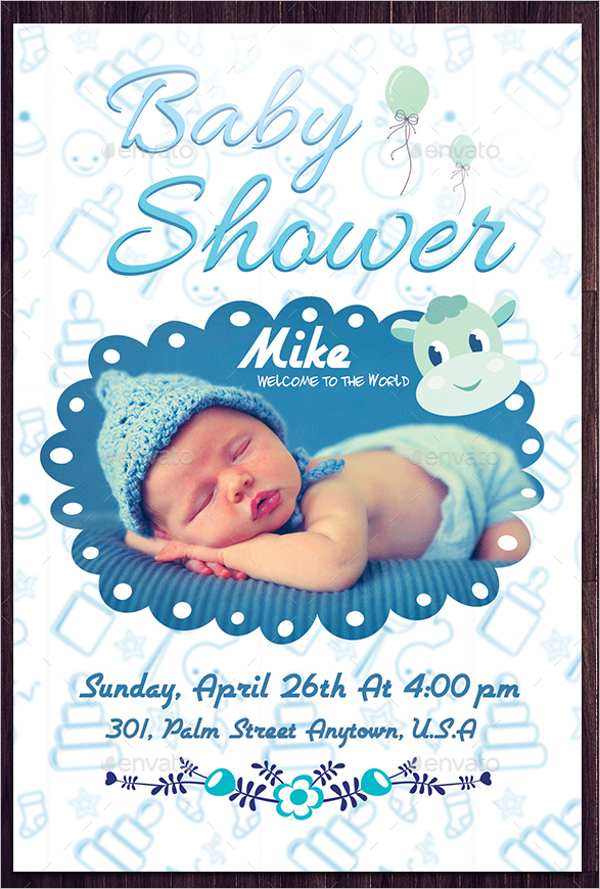 Baby Shower Poster Idea