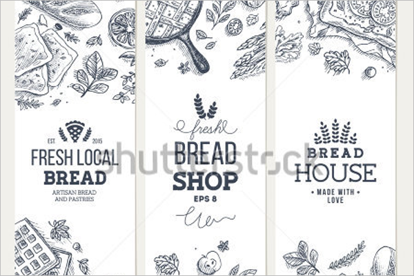 Bakery Background Vector Design