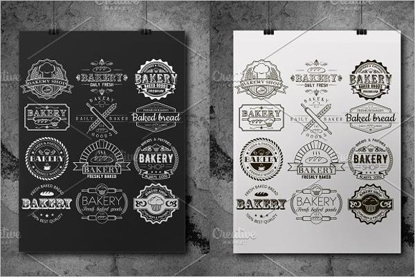 Bakery Logo Bundle Template