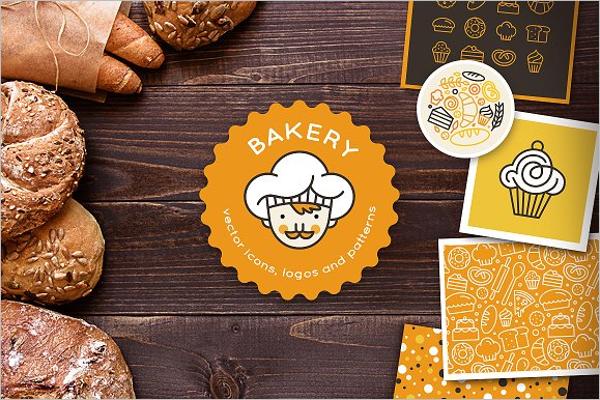 Bakery Menu Items Template