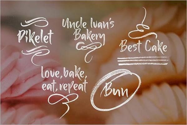 Bakery Menu Template Word