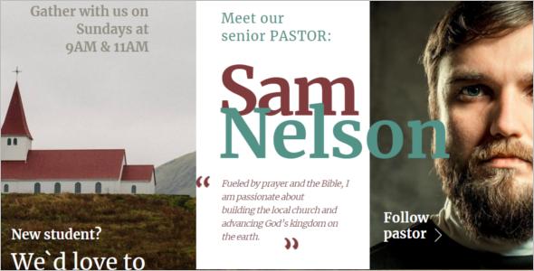 Baptist Church Website Template