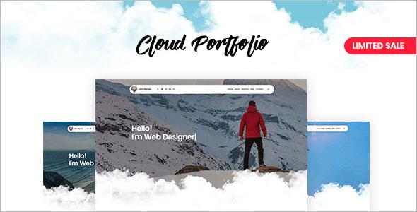 Beautiful Artist Websites Theme