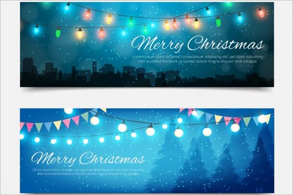 Beautiful Christmas Banner Design