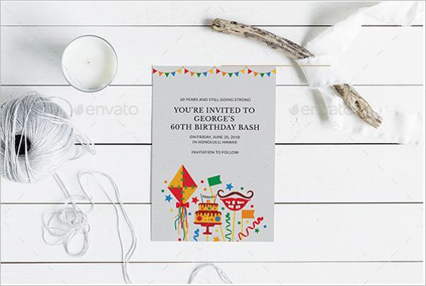 Beautiful Design Birthday Party Flyer