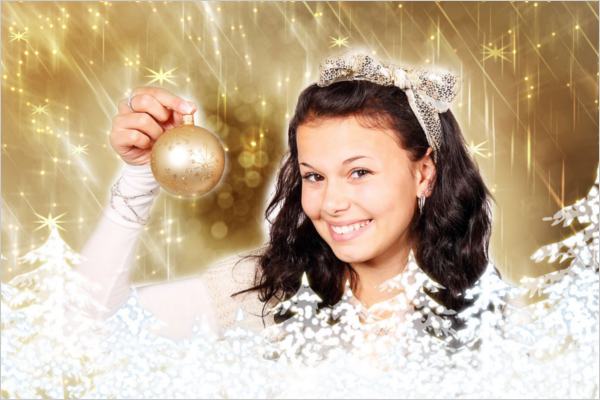 Beautiful Christmas Photoshop Design