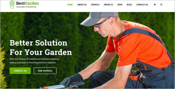 Best Agriculture Website Template