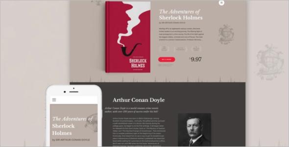 Best Author Website Template 2017