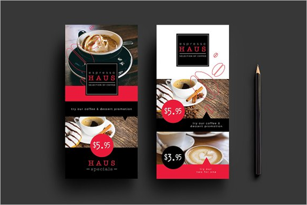 Best Cafe Menu Template