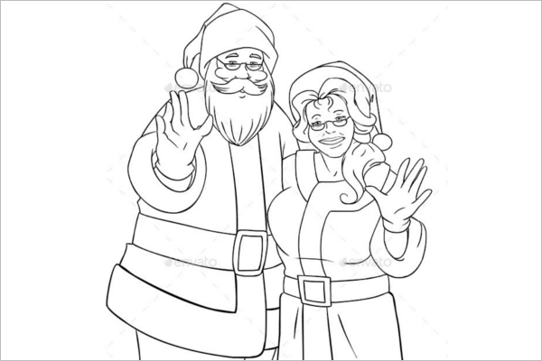 Best Christmas Coloring Page