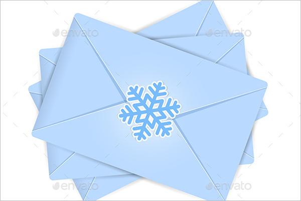 Best Christmas Envelope Design