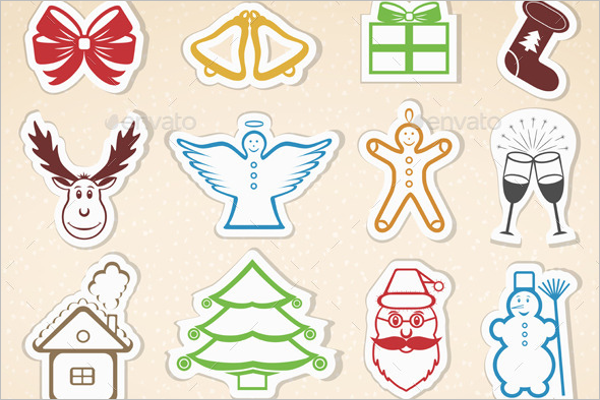 Best Christmas Icons Vector Design