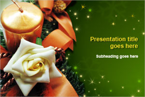 Best Christmas PowerPoint Template