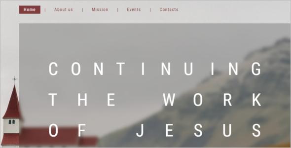 Best Church Website Template