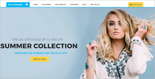 Best Collection ECommerce Shop Template