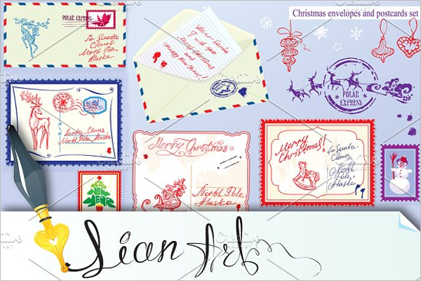 Best Collection of Christmas envelop