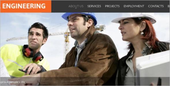 Best Construction Website Theme