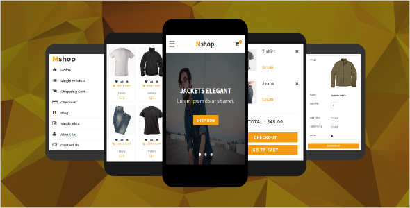 Best ECommerce Mobile Template