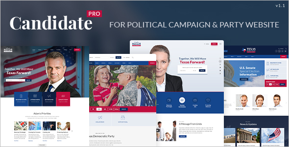 Best Government Website Template