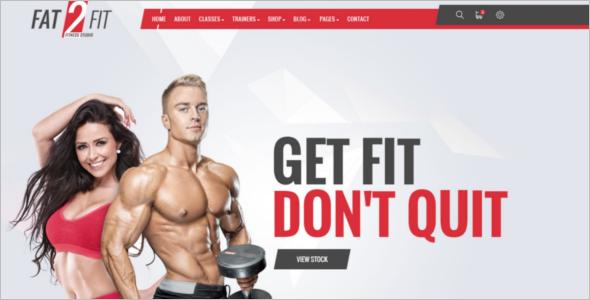 Best Gym Website Template