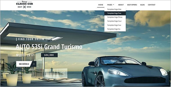 Best HTML Website Template