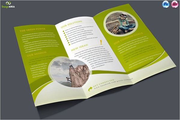 InDesign Brochure Templates Free Brochure Design Ideas - Indesign brochure template