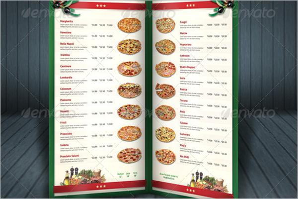 Best Pizza Menu Template