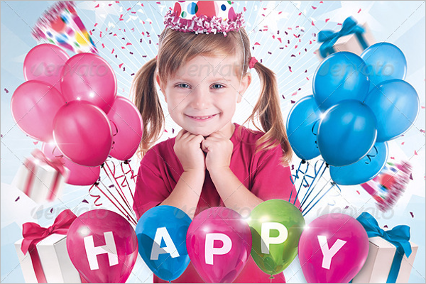 Birthday Party Flyer Example