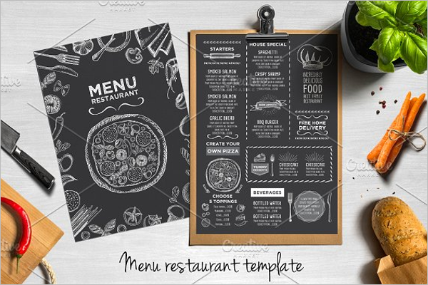 Blackboard Menu Design Bundle