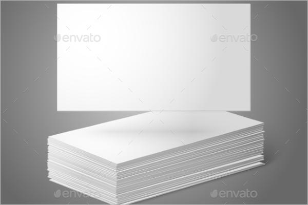 Blank Business Card Design