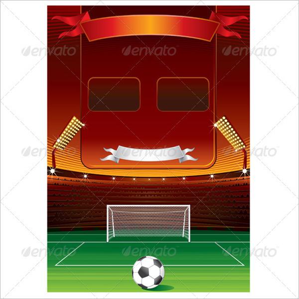Blank Football Scoreboard Template