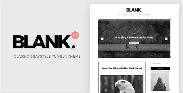 Blog Website Template Bootstrap
