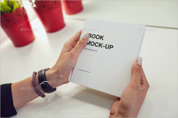 Book Mock-Up Template 2017
