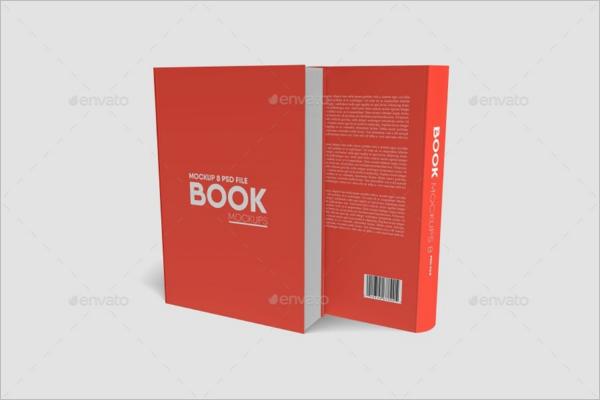 Book Mockup Graphic burger Template