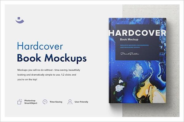 Book Mockup Set Template