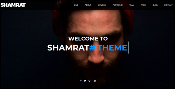 Bootstrap One Page Website Theme