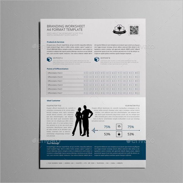 Branding Worksheet Template