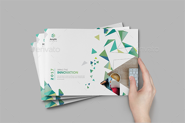 Brochure Dimensions InDesign Template