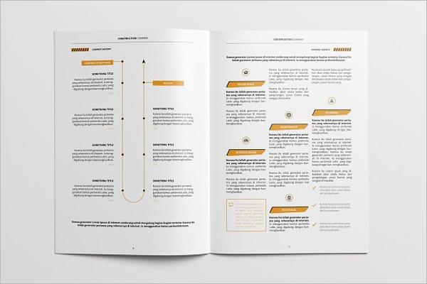 Business Brochure Content