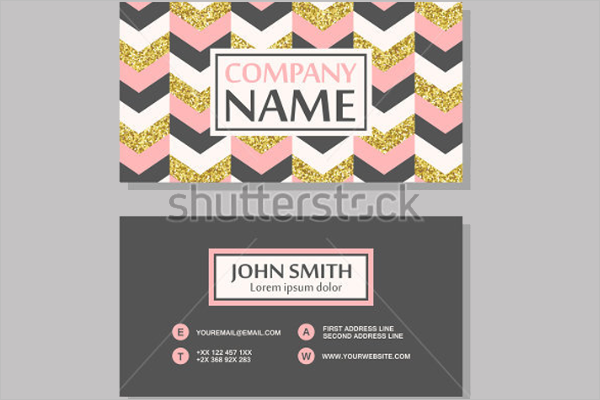 Business Card Promotional Code Template