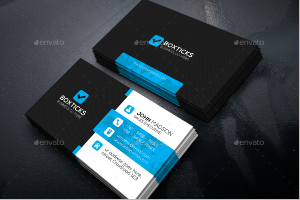 Business Card Template Word 2017