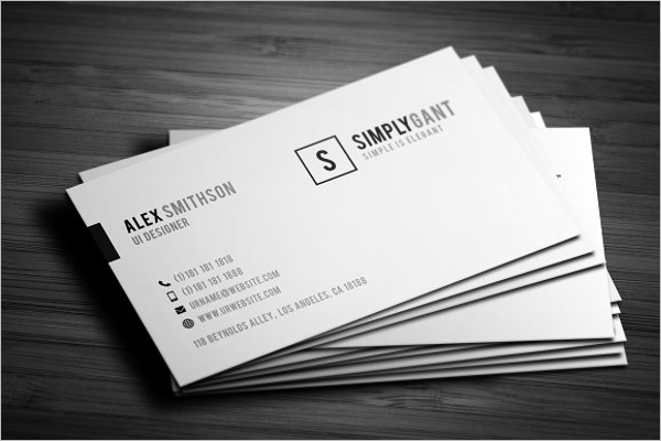 Business Card Template for Word