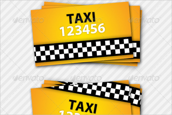Cab Business Card Template