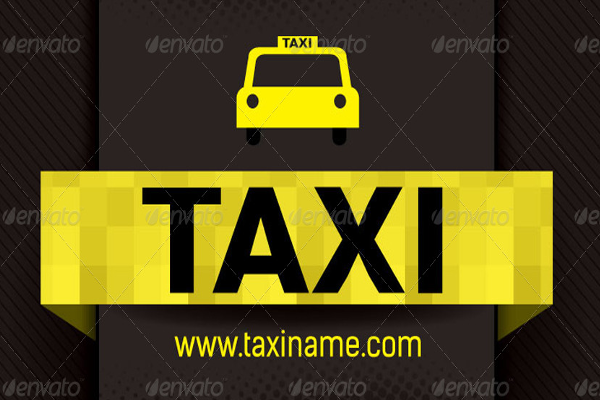Cab Business Cards