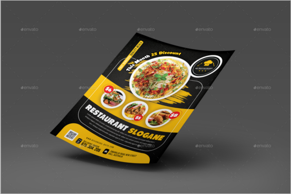 Catering Lunch Flyer Template